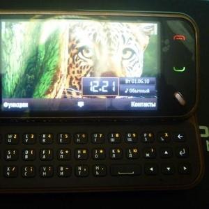 Мобильный компьютер Nokia N97mini garnet red