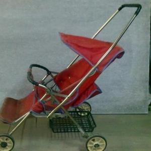 Продаётся детская коляска Б/У. Складная.