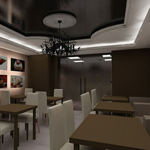 Дизайн-проект натяжного потолка