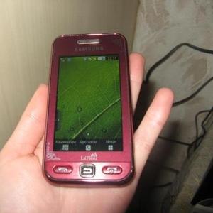 Продам мобильный телефон Samsung La Fleur GT-S5230