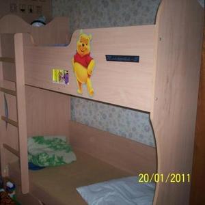 Продам двух ярусную детскую кровать