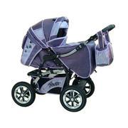 Продаётся комбинированная коляска на амортизаторах: